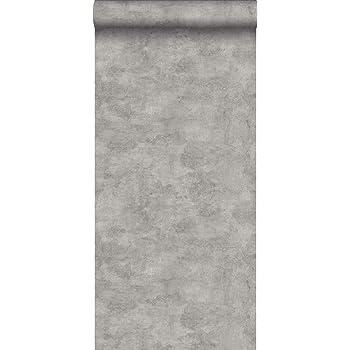 Rasch 939545 Factory III Papier peint intiss/é effet b/éton Gris 10,05 x 53 cm