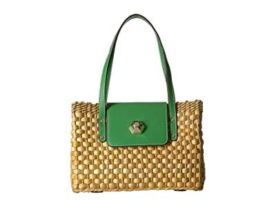 Frances Valentine Gigi Medium Hobo (Grass) Handbags