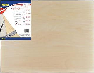 Helix Wooden Lightweight Drawing Board, 20 x 26 Inch, Metal Edge (37409)