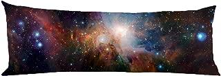 Scroped-Boyd Cosmic Nebula au Custom Fashionable Body Pillowcases Cotton polyester Body Pillow Cover Zipper 20 x 54 inch