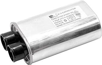 vhbw Pieza de repuesto condensador de alta tensión repuesto para CH85-21100 para microondas