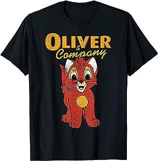 Oliver & Company Movie Portrait Graphic T-Shirt