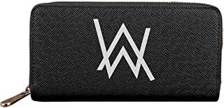 Alan Walker アラン ウォーカー パーカー 1 人気 長財布 財布 メンズ レディース 小銭入れ ラウンドファスナー PUレザー