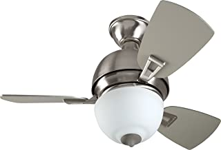Craftmade DA30BNK3 Dane Ceiling Fan with Light 30