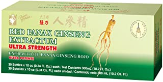 Ultra Strength Red Panax Ginseng Extract - Prince of Peace, 30 btl, 10cc each, Pack of 3