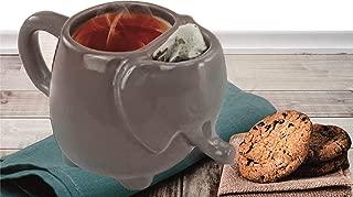Elephant Tea Mug 15oz (Gray)