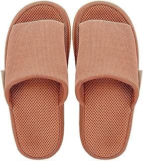 JLHBM Zapatillas De Casa Zapatillas De Interior con Bola De Masaje Suelas De Masaje Zapatillas Material De Malla Sudor Transpirable (Color : E, Size : L)