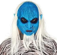 NET TOYS Llamativa máscara Caminante Blanco - Azul-Blanco ...