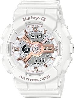 [カシオ] 腕時計 ベビージー BABY-G BA-110RG-7AJF ホワイト