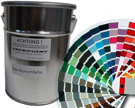 Lackpoint Spritzfertiger Autolack In Ihrer Wunschfarbe Metallic Und Uni Farben 5 Liter Auto