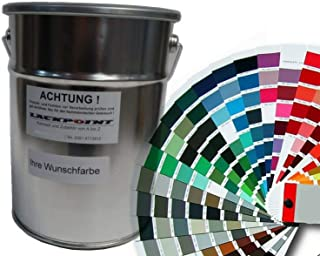 Lackpoint Spritzfertiger Autolack in Ihrer Wunschfarbe Metallic und Uni Farben (3 Liter)