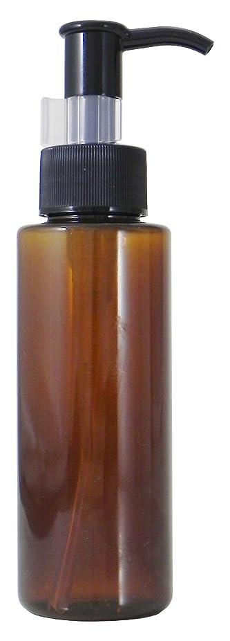 スクラブリーズ満了PETボトル ポンプ (茶) 100ml