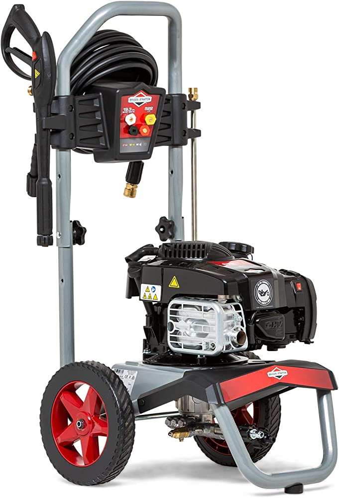 Briggs and Stratton Elite Hidrolimpiadora de alta presión de gasolina 2800 PSI/193 bares - Serie 675EXi OHV con motor de 163 cc