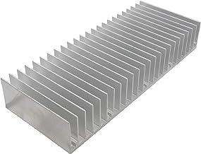 オーディオファン ヒートシンク アルミ 放熱板 60mm × 150mm × 25mm シルバー 1個