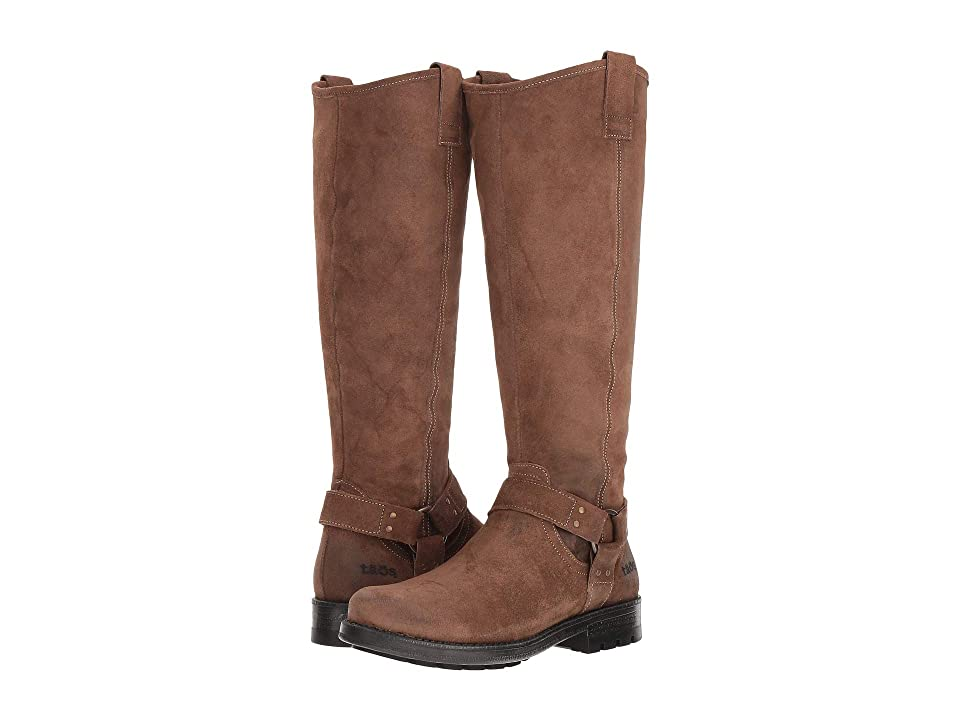 Taos Footwear Runaway (Dark Tan Rugged) Women