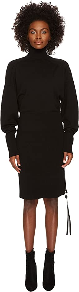 Sportmax - Shock Runway Turtleneck Sweater Dress