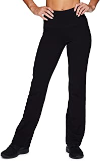 RBX Active Women's Traditional Cotton Boot Cut Yoga Pant