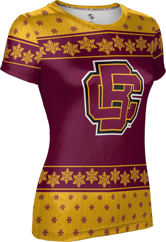 Bethune-Cookman University Ugly Holiday Girls' Performance T-Shirt (Snowflake)