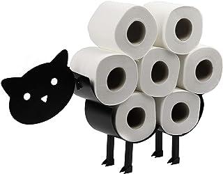 Kattenrolhouder voor katten   Vrijstaande toiletpapierstandaard   Metalen toiletaccessoire   Leuke badkameraccessoires   P...