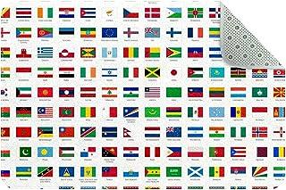 Doormat Custom Indoor Welcome Door Mat, World Countries Flag Home Decorative Entry Rug Garden/Kitchen/Bedroom Mat Non-Slip...