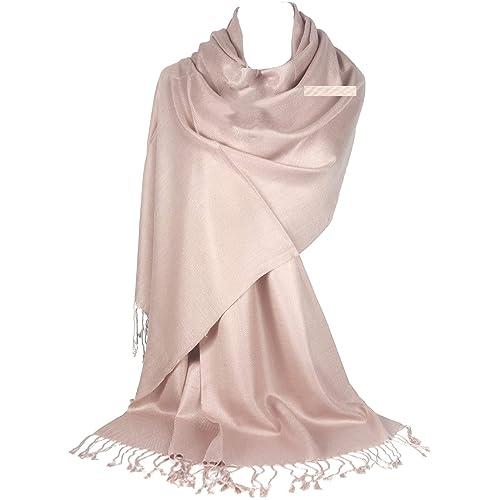 6bef86b08b9ce GFM® Pashmina Style Wrap Scarf - All Seasons - Twill Weave Soft - B9