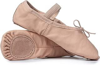 Adult Leather Split-Sole Ballet Shoes T2700