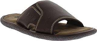 Dustin Mens Memory Foam Slide Comfort Sandal