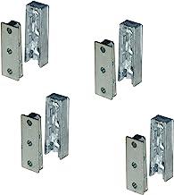 Gedotec Solid meubelverbinders, verborgen corpusverbinders, van metaal, ophangverbindingen, beslag voor bedden, meubels en...