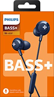 Philips Bass+ Earphones with Microphone