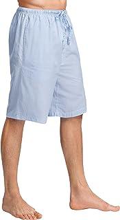 CYZ Men's 100% Cotton Plaid Poplin Woven Lounge/Sleep Shorts