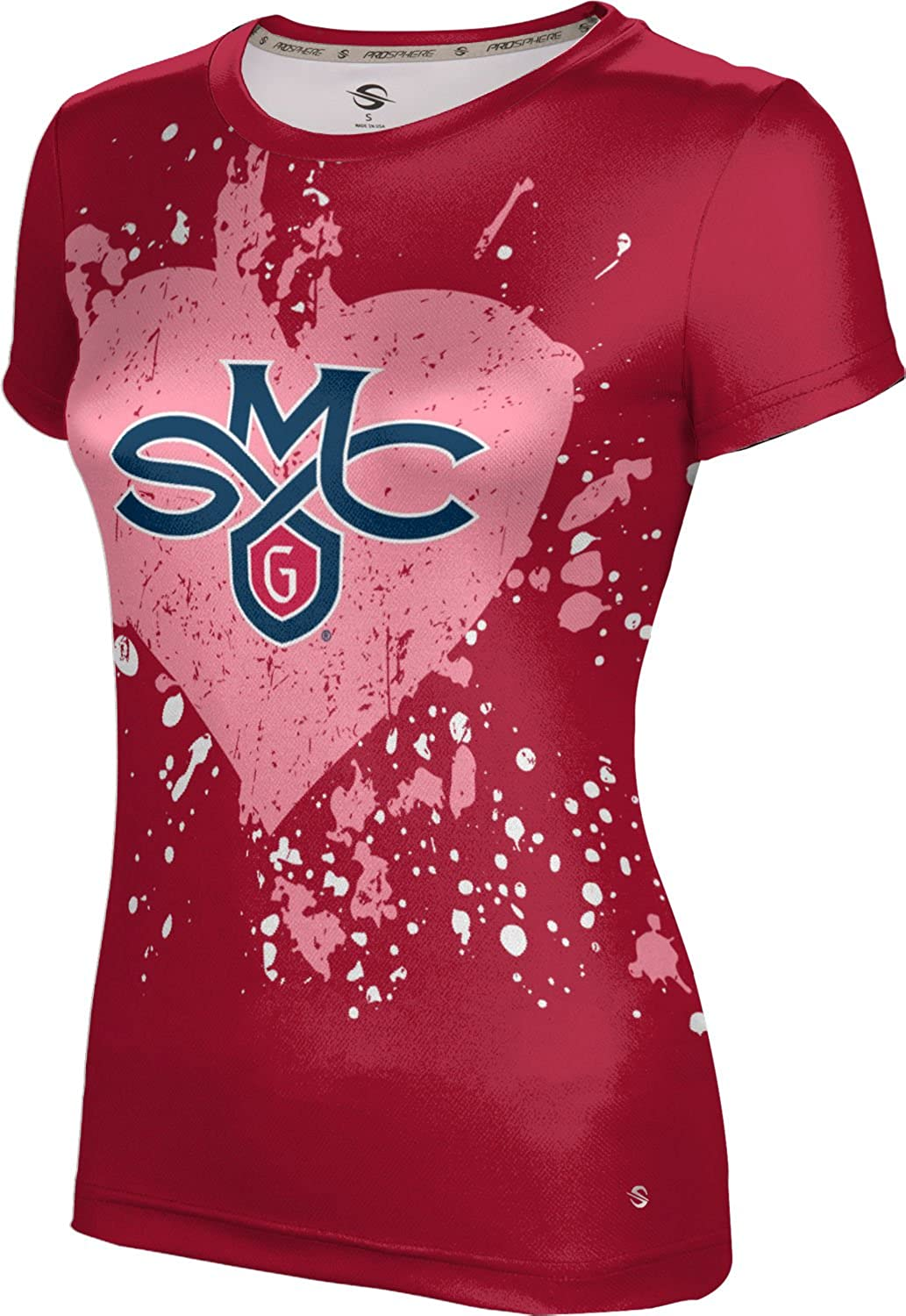ProSphere Saint Mary's College of California Valentine's Day Girls' Performance T-Shirt (Heart)