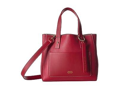 Frances Valentine Chloe Small Tote (Red) Handbags