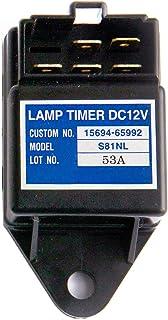 Notonmek Timer Lamp 2V Time Relay Quickglow Timer Light 15694-65990 for Kubota KH-101 KX121-2 KH-151 KH-191 KH-36 KH-41 KH...