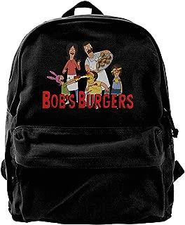 Nndog Bobs-Burgers Unisex Canvas Backpack Travel Bag School Bag