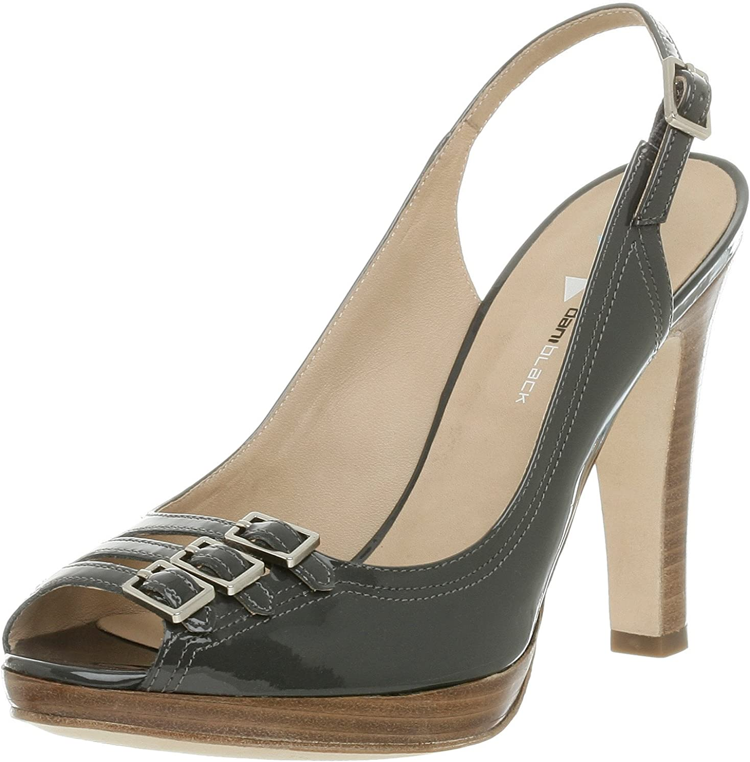 Regular store daniblack Women's Max 89% OFF Wander Toe Peep Slingback
