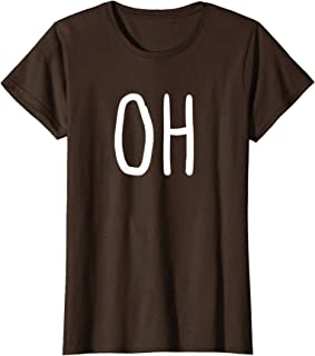 Womens Oh Deer Trendy Halloween Costume T-Shirt