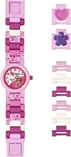 LEGO Watches and Clocks Girl's Quartz Plastic Watch Color:Pink (Model: 8021247)