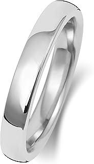Anello Fede Nuziale Uomo/Donna 3mm in Oro bianco 9k (375) WJS189569KW