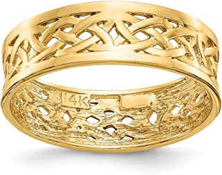 Best celtic knot gold band Reviews