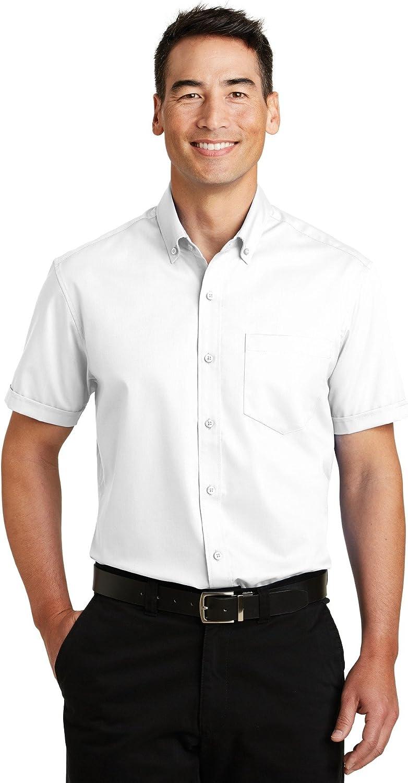 Port Authority Mens Short Sleeve SuperPro Twill Shirt (S664)