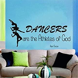 A Design World Wall Sticker Inspirational Dancers are The Athletes of god
