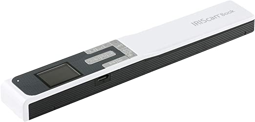IRIScan Book 5 Mobile Wand Portable Handheld Color Scanner
