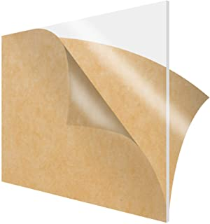 """.236/"""" x 12/"""" x 48/"""" Clear PETG Plastic Sheet Co-Polyester"""