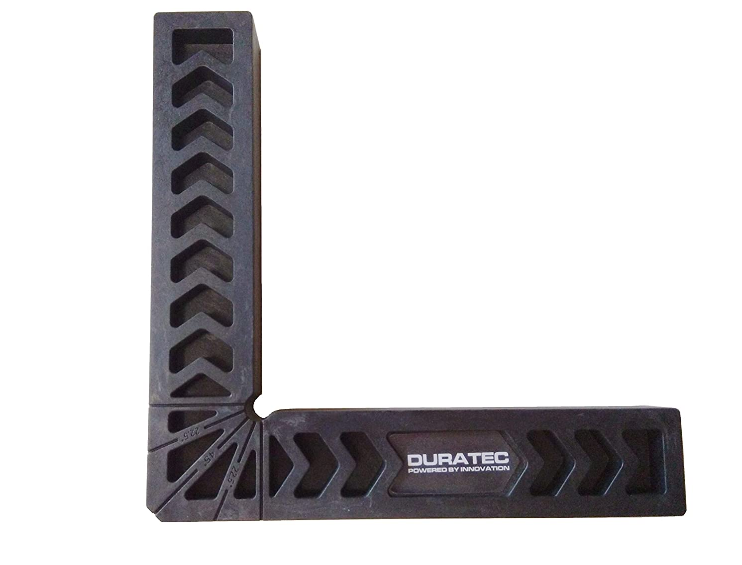 Duratec Positioning Squares, Woodworking Tool, Clamping 90 Degree Angles for Picture Frames, Boxes, Cabinets or Drawers.Pack of 1PC (8 Inch, Black)