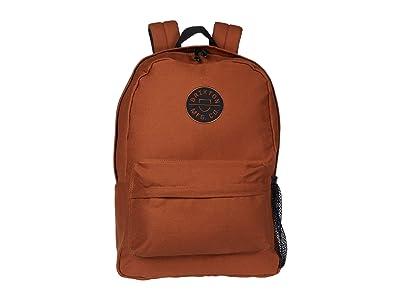 Brixton Crest Backpack (Dark Khaki) Backpack Bags
