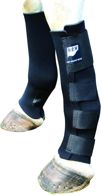 New Equine Wear Freedom Stretch Turnout Socks (Pony) (Navy)