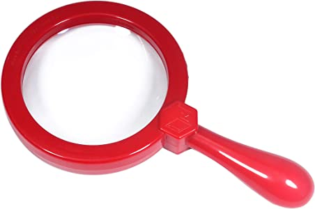 Britten James Giant CHILD SAFE Magnifying Glass RED...