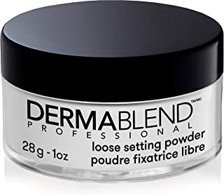 Dermablend Setting Powder, Loose Powder for Finishing and Setting Makeup, Mattifying Finish and Shine Control