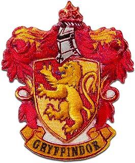 Escudo de armas de Harry Potter © Gruffindor - Parches termoadhesivos bordados aplique para ropa