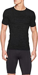 Sundried Mens Muscle Fit Compression T-Shirt Seamless Athletic Gym Clothing